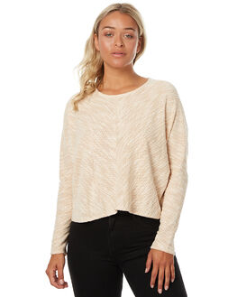 CREAM WOMENS CLOTHING THE HIDDEN WAY KNITS + CARDIGANS - H8173146BSPK
