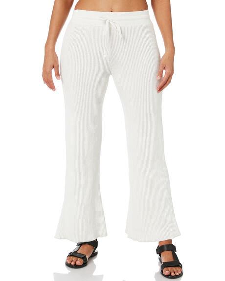 WHITE WOMENS CLOTHING RUE STIIC PANTS - SA-20-K-06-WWHT