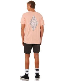 SALMON MENS CLOTHING KATIN TEES - TSDIA01SALMN