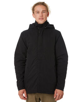 BLACK MENS CLOTHING ACADEMY BRAND JACKETS - 19W204BLK
