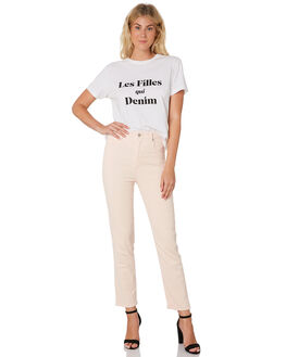 PINK WOMENS CLOTHING A.BRAND JEANS - 71488-500