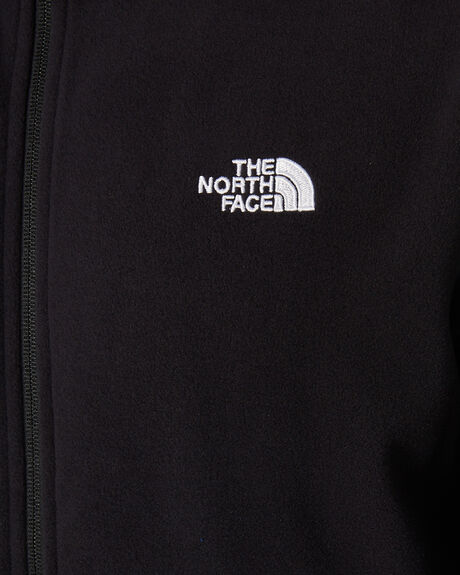 ASPHALT GREY BLACK MENS CLOTHING THE NORTH FACE JACKETS - NF0A4AJCMN8