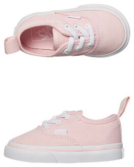 CHALK PINK WHITE KIDS TODDLER GIRLS VANS FOOTWEAR - VNA38E8Q1CPNKWH