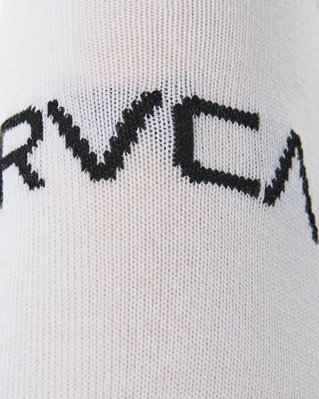WHITE MENS CLOTHING RVCA SOCKS + UNDERWEAR - R162602BWHI