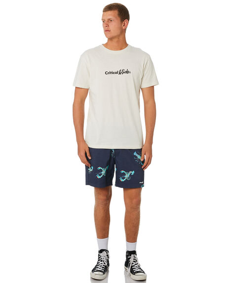 NAVY OUTLET MENS THE CRITICAL SLIDE SOCIETY BOARDSHORTS - BS1899NVY