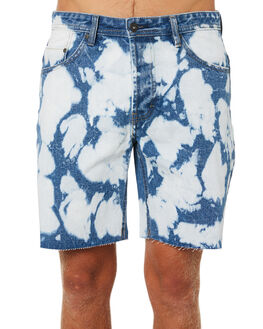 BLEACHED BLUE MENS CLOTHING BARNEY COOLS SHORTS - 601-CR1BLEBL