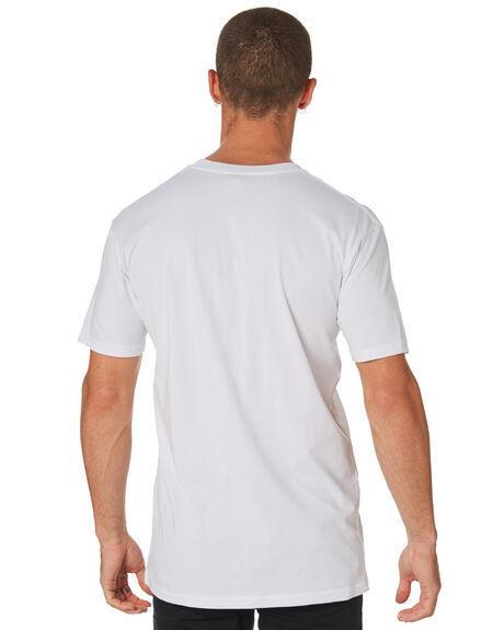 WHITE MENS CLOTHING AS COLOUR TEES - 5001WHI