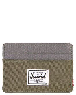 IVY GREEN PEARL MENS ACCESSORIES HERSCHEL SUPPLY CO WALLETS - 10360-02134-OSIVY