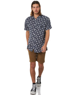 NAVY MENS CLOTHING THE CRITICAL SLIDE SOCIETY SHIRTS - SWS1703NVY