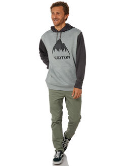 MONUMENT HEATHER MENS CLOTHING BURTON JUMPERS - 162231021