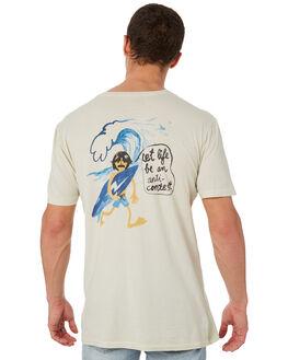 NATURAL MENS CLOTHING ALOHA ZEN TEES - AZ939NAT