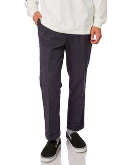 NAVY STRIPE MENS CLOTHING BRIXTON PANTS - 04081NVSTR