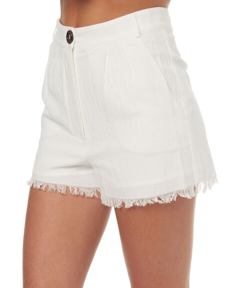 OFF WHITE WOMENS CLOTHING MINKPINK SHORTS - MP1706930OFFWH