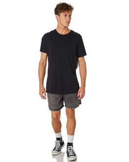 BLACK ACID MENS CLOTHING INSIGHT SHORTS - 1000076165BLKAC