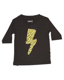 SOFT BLACK KIDS BABY MUNSTER KIDS CLOTHING - MI172TL03SBLK