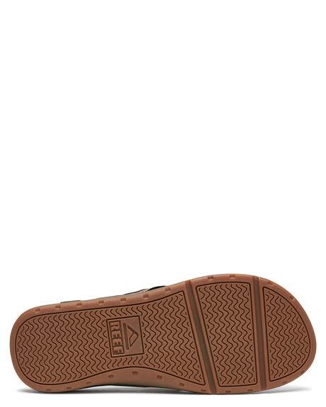 BROWN MENS FOOTWEAR REEF THONGS - A3YKSBRO
