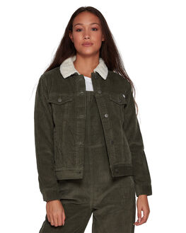 DARK ARMY WOMENS CLOTHING RVCA JACKETS - RV-R293436-3DA