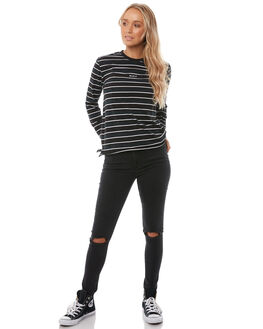 FOREST WOMENS CLOTHING RVCA TEES - R283099FRST