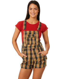 CHECK OUTLET WOMENS AFENDS PLAYSUITS + OVERALLS - W184880CHECK