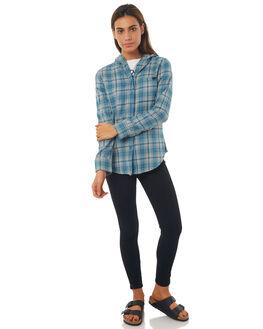 NOISE AQUA WOMENS CLOTHING HURLEY FASHION TOPS - AGLS3WL4NH