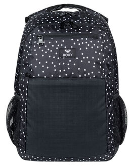 TRUE BLACK DOTS WOMENS ACCESSORIES ROXY BAGS + BACKPACKS - ERJBP03746KVJ8
