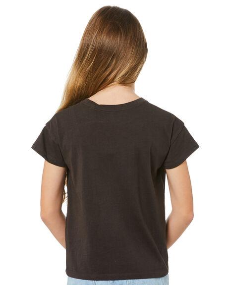 WASHED BLACK KIDS GIRLS RIP CURL TOPS - JTEAP98264