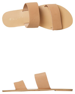 CAMEL NUBUCK WOMENS FOOTWEAR BILLINI FASHION SANDALS - S404CAMNU