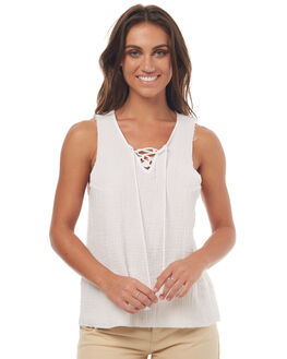 WHITE WOMENS CLOTHING SWELL FASHION TOPS - S8171275WHITE