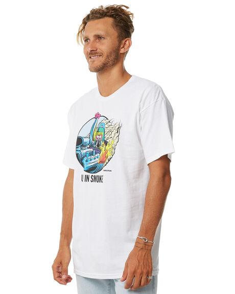 WHITE MENS CLOTHING BRIXTON TEES - 06841WHITE