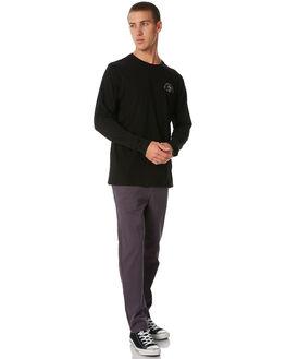 BLACK MENS CLOTHING SWELL TEES - S5184102BLACK