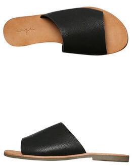 BLACK WOMENS FOOTWEAR URGE FASHION SANDALS - URG17062BLK