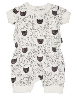 CREAM OUTLET KIDS ROCK YOUR BABY CLOTHING - BGB1879-MOCRM