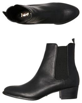 BLACK WOMENS FOOTWEAR BILLINI BOOTS - B803BLK