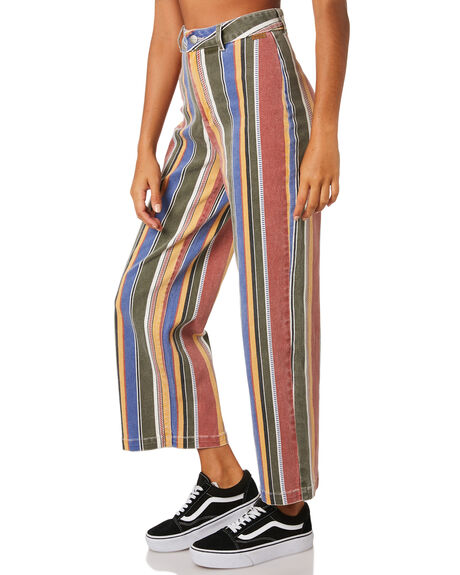 MULTI WOMENS CLOTHING RVCA PANTS - R293271MUL