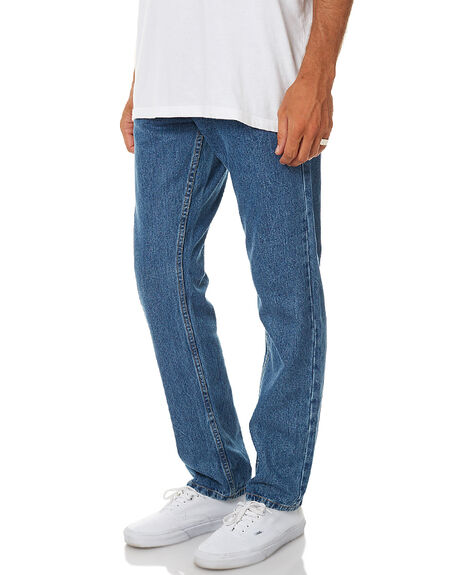 VINTAGE BLUE MENS CLOTHING AFENDS JEANS - 12-02-030VBLU