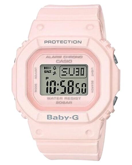 POWDER PINK WOMENS ACCESSORIES BABY G WATCHES - BGD560-4DPNK