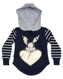 NAVY KIDS TODDLER GIRLS KISSED BY RADICOOL JUMPERS - KR0706NVY