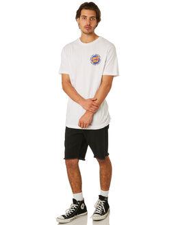 WHITE MENS CLOTHING SANTA CRUZ TEES - SC-MTD8008WHT