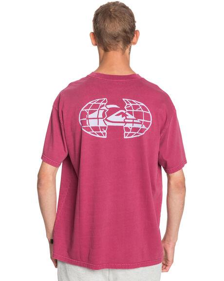 RASPBERRY RADIANCE MENS CLOTHING QUIKSILVER TEES - EQYZT06095-MQY0