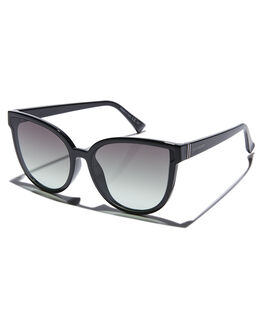 BLACK GLOSS WOMENS ACCESSORIES VONZIPPER SUNGLASSES - SJJFAIBGCBLKGL