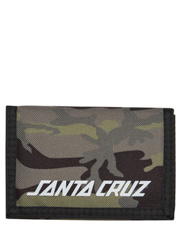 CAMO MENS ACCESSORIES SANTA CRUZ WALLETS - SC-MAD8053CAMO