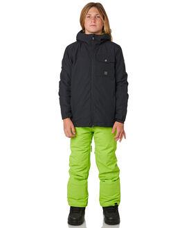 BLACK BOARDSPORTS SNOW QUIKSILVER KIDS - EQBTJ03078KVJ0