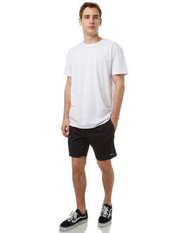 BLACK MENS CLOTHING RVCA SHORTS - R371315BLK
