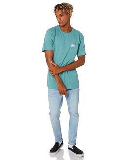 OIL BLUE MENS CLOTHING VANS TEES - VNA49KUSP9