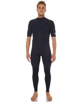 BLACK SURF WETSUITS NCHE WETSUITS STEAMERS - SU172MMSS01BLK