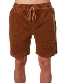 TAN MENS CLOTHING AFENDS SHORTS - M182354TAN