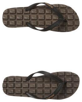CHOCOLATE MENS FOOTWEAR KUSTOM THONGS - 4966201ACHOC