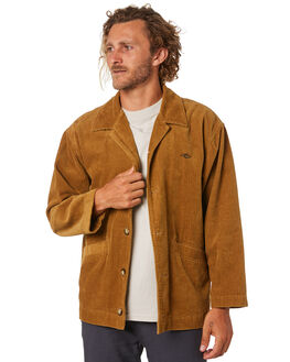 TAN MENS CLOTHING RIP CURL JACKETS - CJKEZ11046