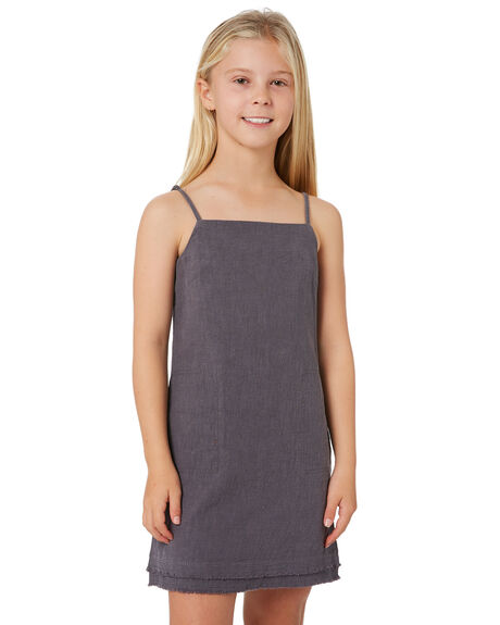 OMBRE BLUE KIDS GIRLS RUSTY DRESSES + PLAYSUITS - DRG0014OMBL