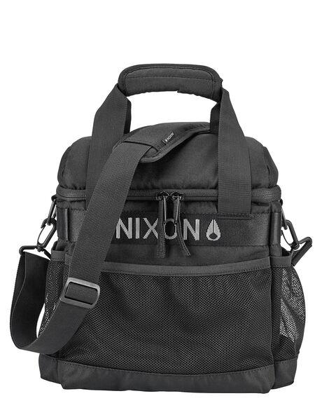 BLACK WHITE MENS ACCESSORIES NIXON BAGS + BACKPACKS - C2580-005